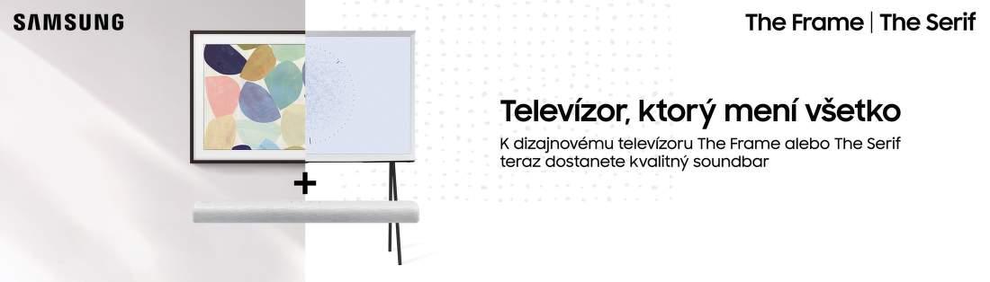 Soundbar ako darček k televízorom Samsung