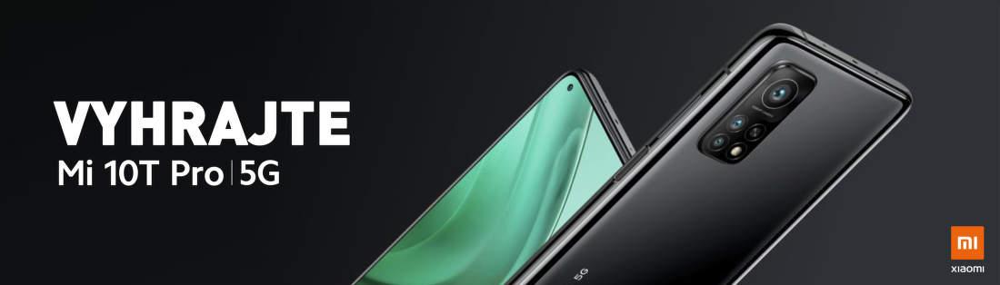 Vyhrajte nový Xiaomi Mi 10T Pro