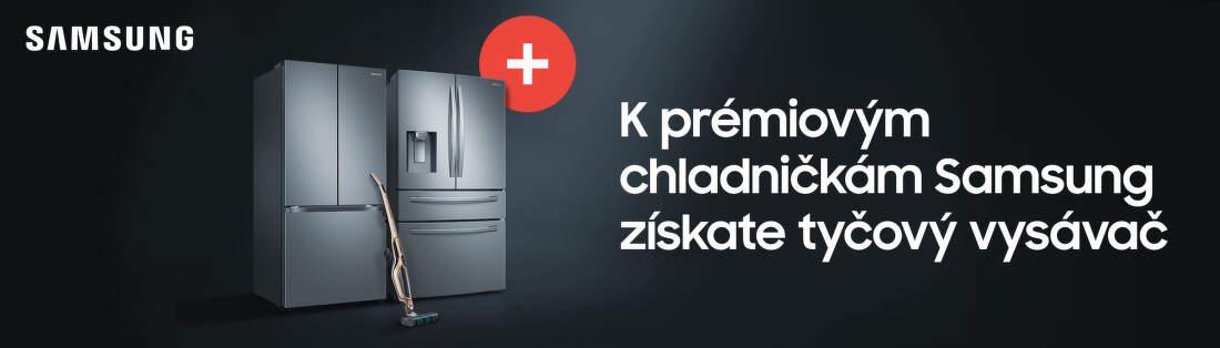 Získajte tyčový vysávač k chladničke Samsung