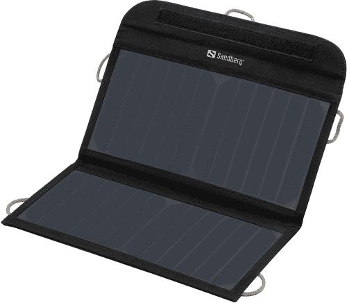 b769656cb9785 Sandberg solárna nabíjačka 2x USB, čierna | Nay.sk