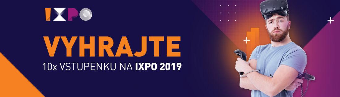 Vyhrajte vstupenky na IXPO 2019