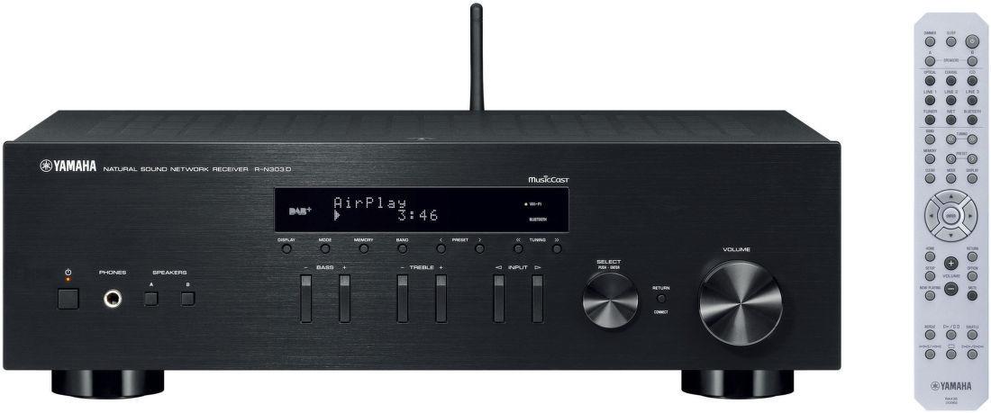 940950283 Yamaha R-N303D čierne receiver   Nay.sk
