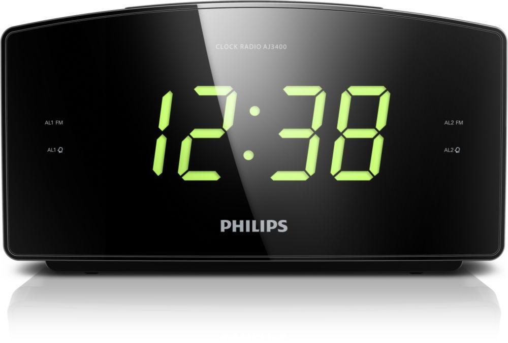 ca16d95f9 Philips AJ3400 (čierny) - radiobudík | Nay.sk