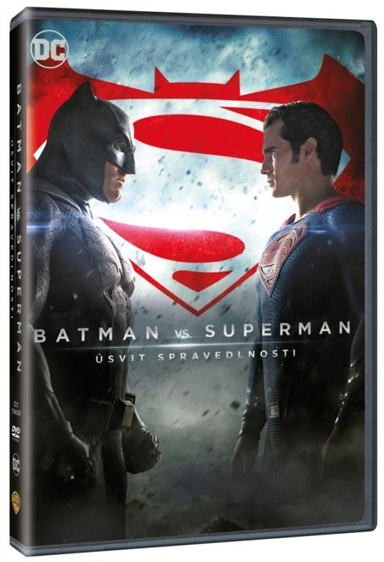 Batman vs. Superman  Úsvit spravedlnosti - DVD film  2d79c5952c1
