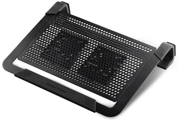 9758f9e8c NotePal U2 Plus chladiaca podložka (čierna)   Nay.sk