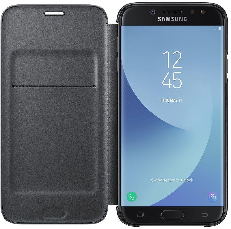 Samsung flipové puzdro pre J7 2017 čierna  a94edd37846