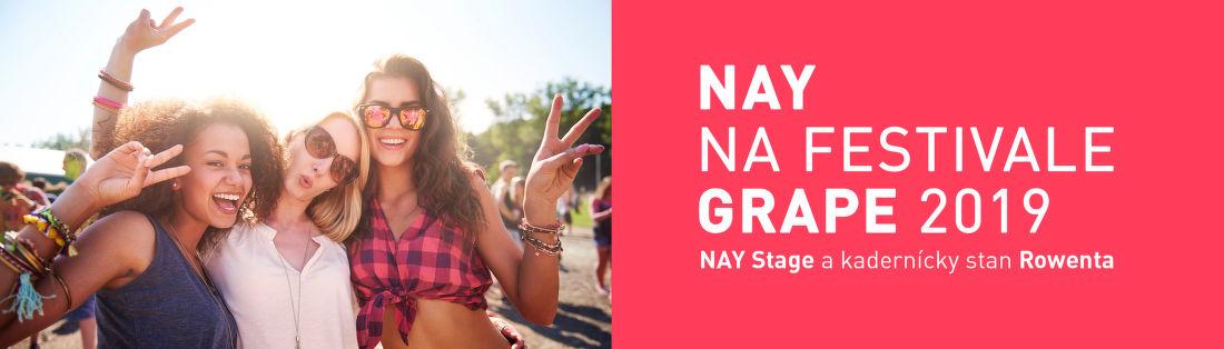 NAY stage aj na festival Grape