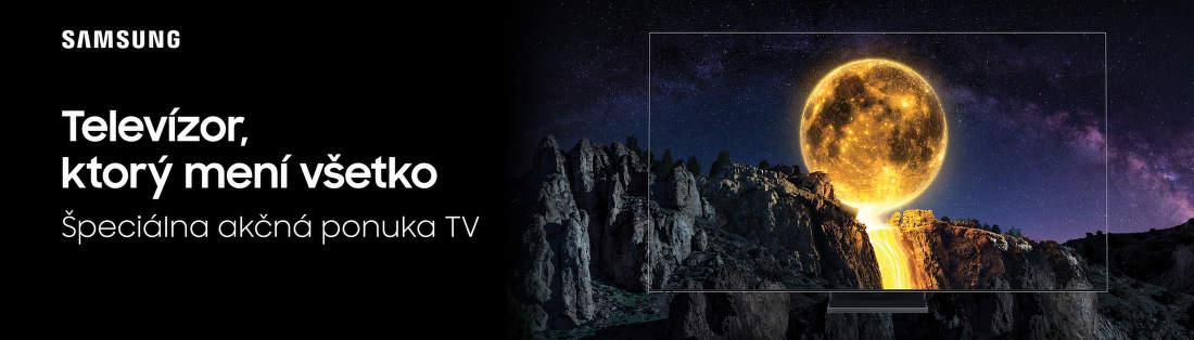 Akciová ponuka  Samsung televízorov