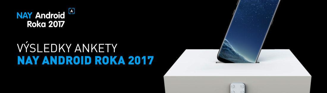 Výsledky ankety NAY Android Roka 2017