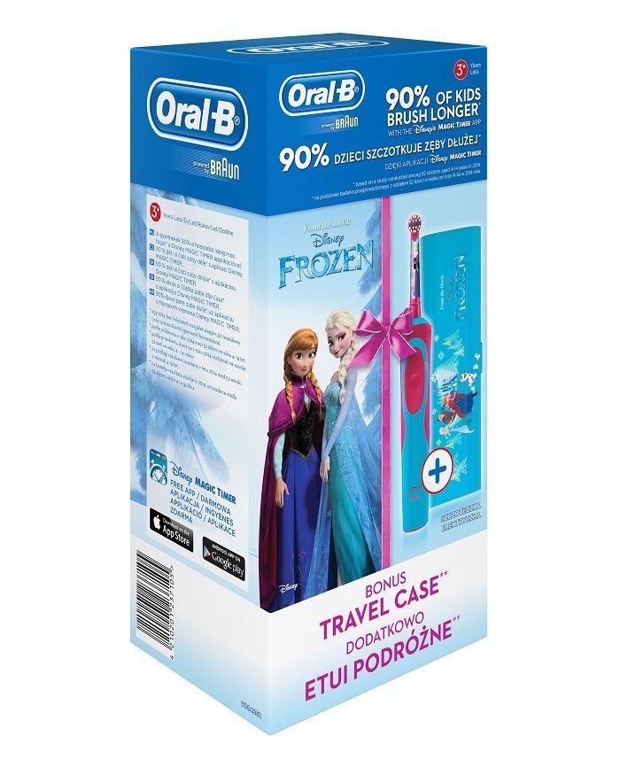 75f5bcdd6 Oral-B Vitality Frozen detská elektrická zubná kefka (+cestovné ...