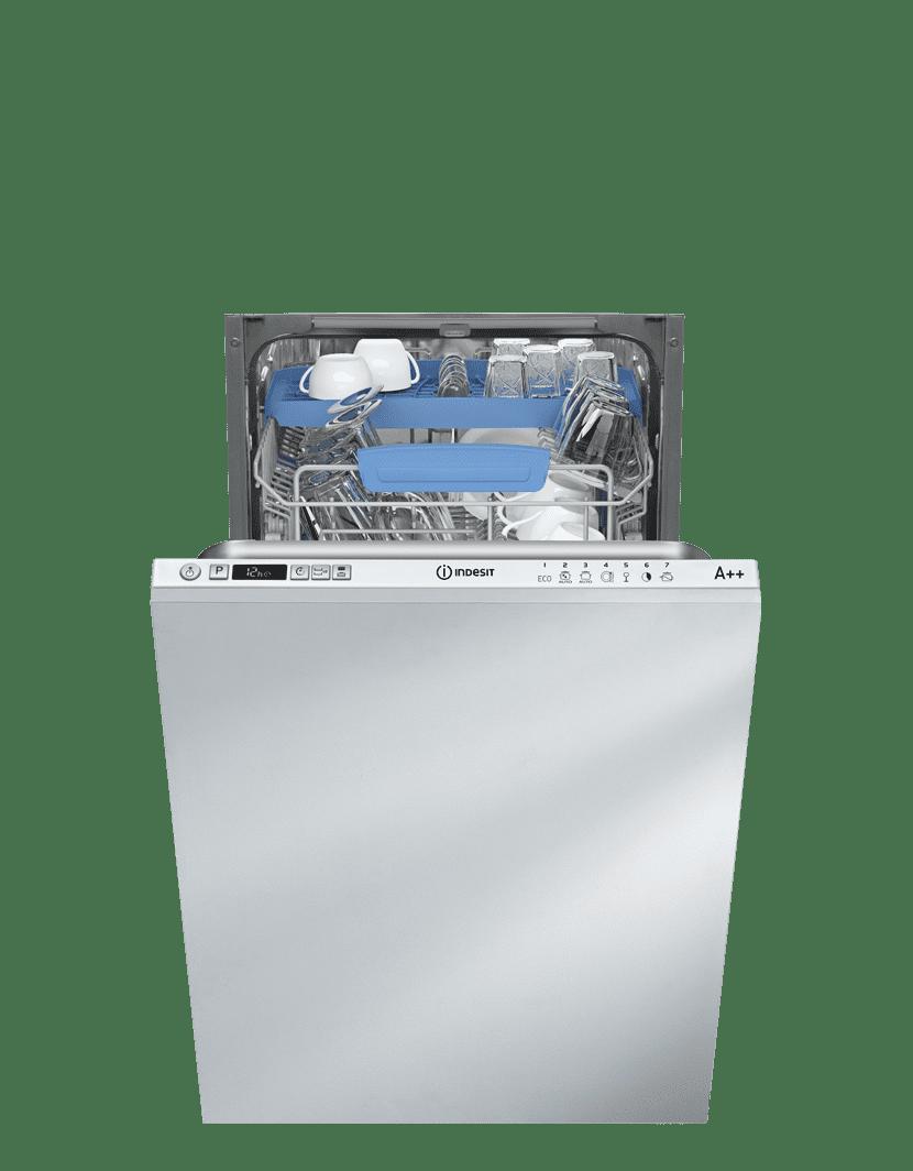7e7eabb971ebe Indesit DISR 57M94 CA EU, plne integrovaná umývačka 45 cm | Nay.sk