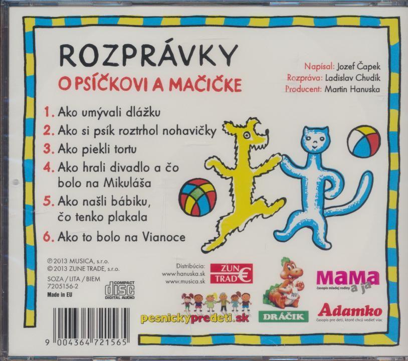 7f2da9786 CD H - ROZPRAVKA - O PSICKOVI A MACICKE   Nay.sk