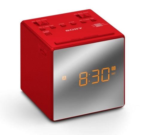 4d1d6bb8e Sony ICF-C1TR (červený) - radiobudík | Nay.sk