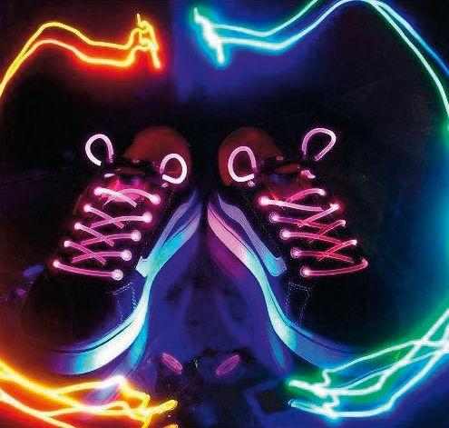 45d033cf01 KONIG BXL-SL10   basicXL - LED Svietiace šnúrky do topánok ružové ...