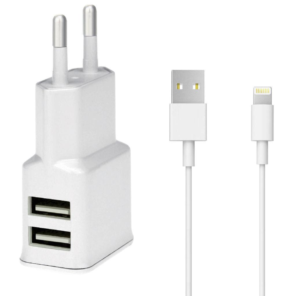 WINNER nabíjačka + dátový kábel Lightning pre iPhone 5 6 (biela ... cdefbf851c2