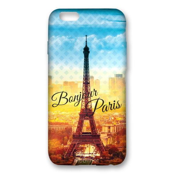 Mobilnet gumenné puzdro pre iPhone 6 6S Paríž  10089b2d841