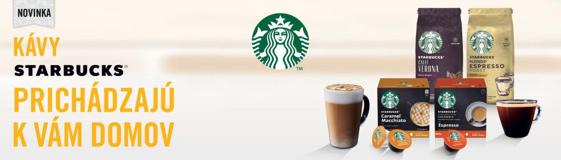 Novinka v ponuke: káva Starbucks