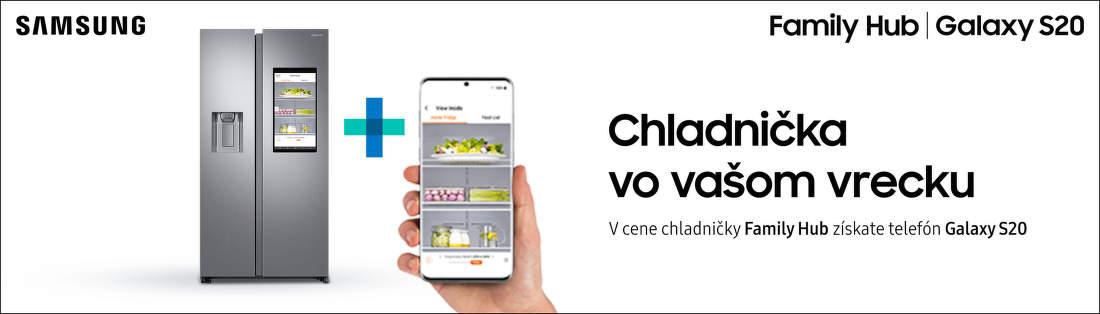 Smartfón ako darček k chladničke Samsung