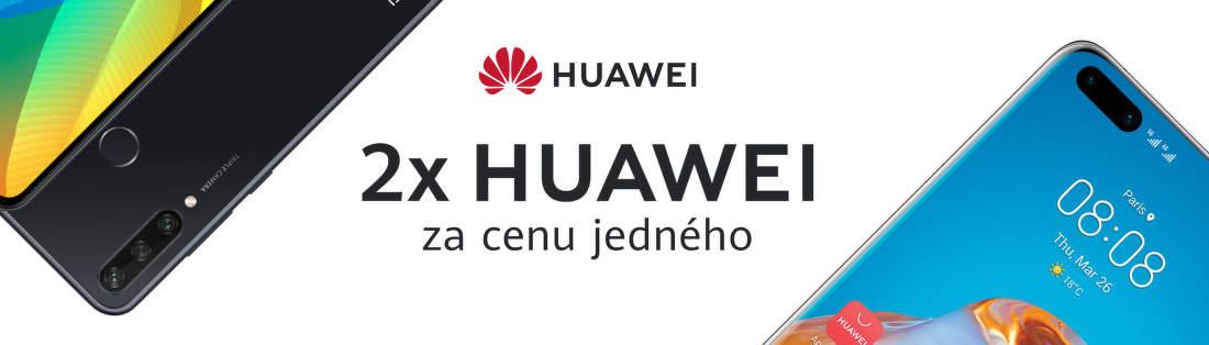 2x Huawei za cenu jedného
