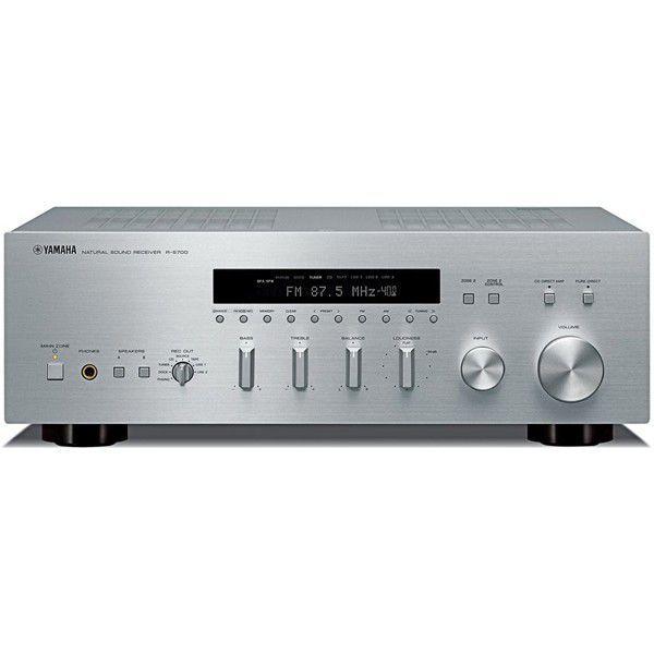 yamaha r s700 strieborn stereo receiver vystaven kus. Black Bedroom Furniture Sets. Home Design Ideas