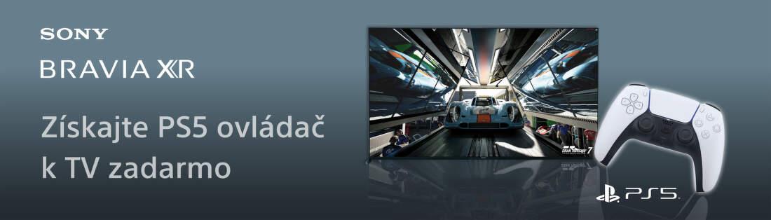 Ovládač PS5 DualSense k TV Sony