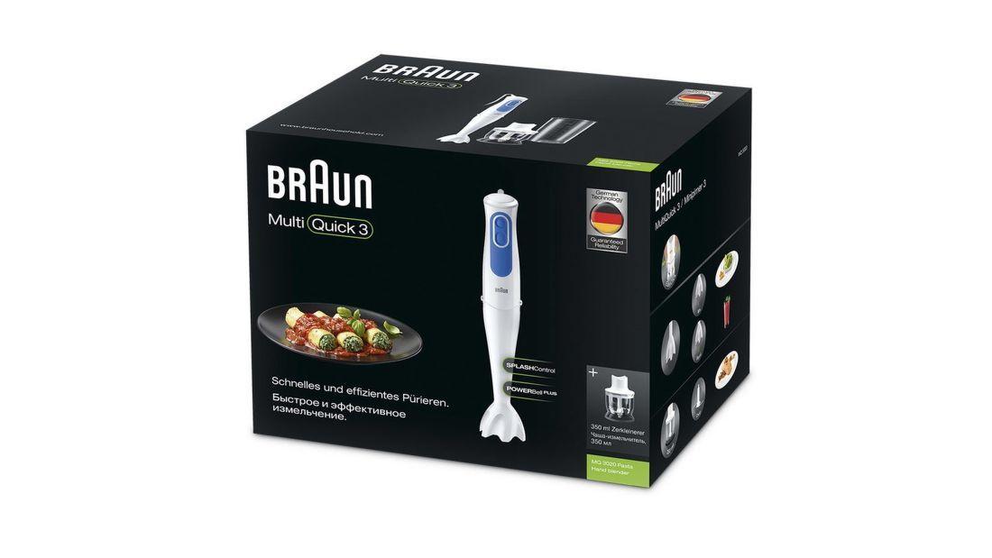 Braun MQ3020WH MultiQuick Pasta tyčový mixér Set  39af7f76cfb