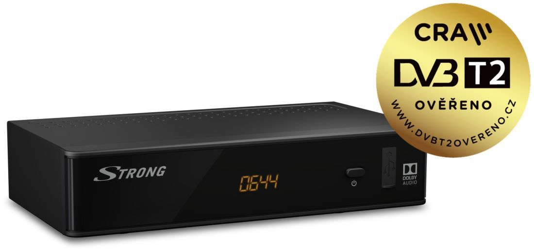 9e03b9029 Strong SRT 8211 DVB-T2 prijímač | Nay.sk