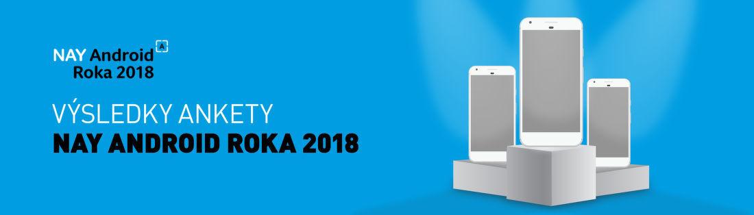 Výsledky ankety NAY Android Roka 2018