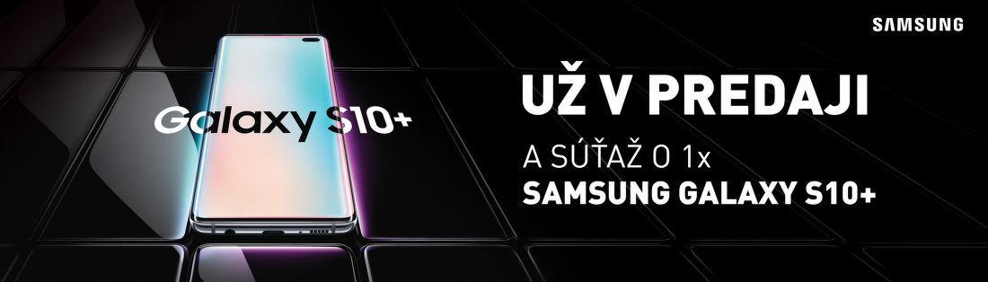 Vyhrajte nový Samsung Galaxy S10+
