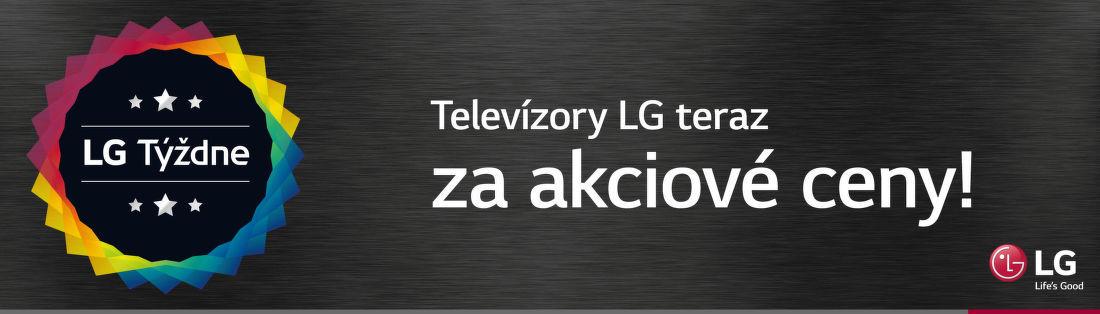 Akciová ponuka na TV LG