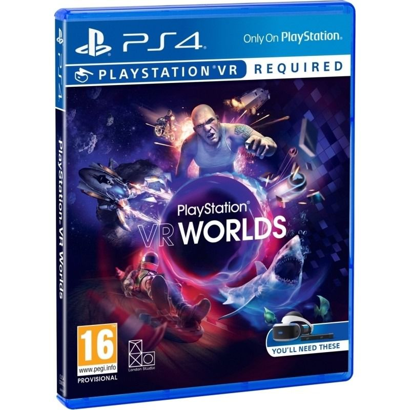 bfec506e9 Sony VR Worlds - PS4 hra | Nay.sk