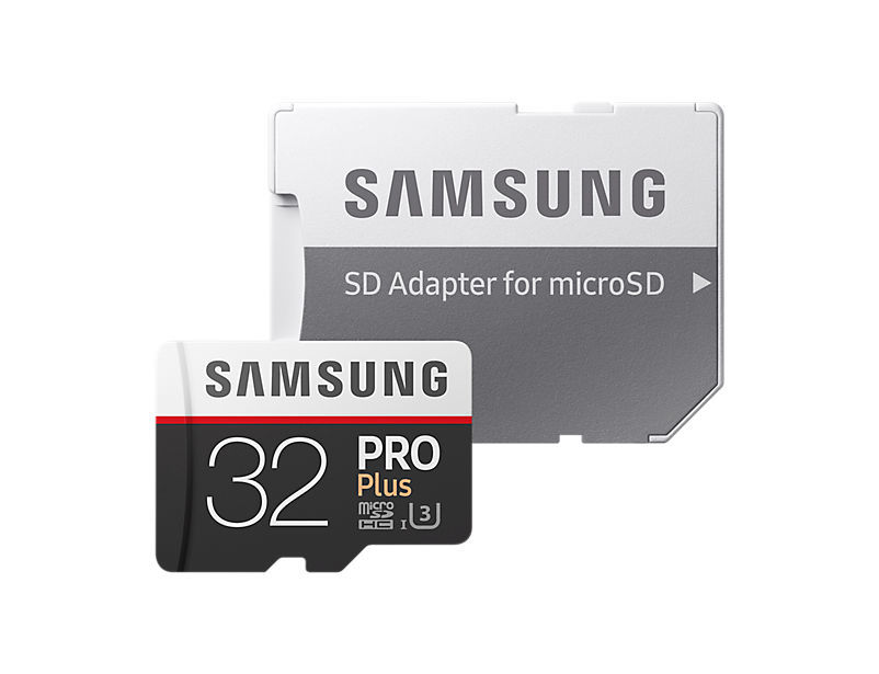 samsung micro sdhc 32gb pro plus sd adapt r mb md32ga eu. Black Bedroom Furniture Sets. Home Design Ideas