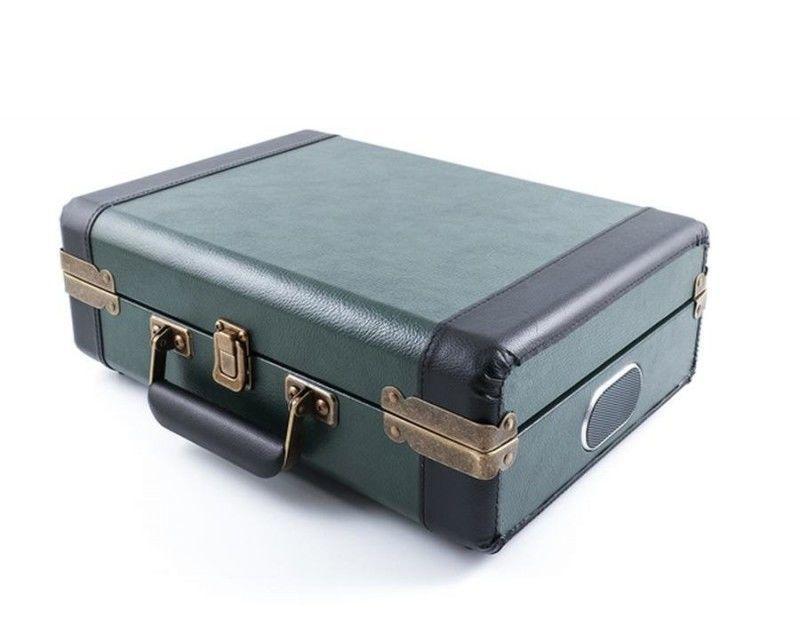 daa9045fd GPO Retro Ambassador zelený gramofón | Nay.sk