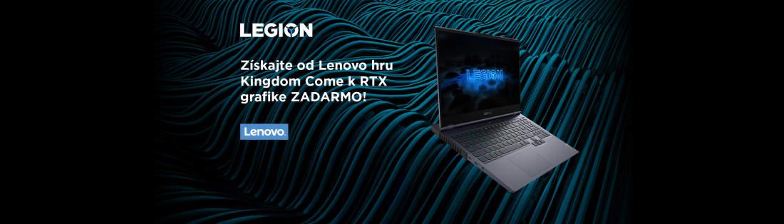 Hra Kingdome Come k vybraným notebookom Lenovo