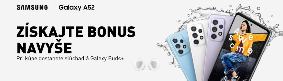 Bonus k objednávke Samsung Galaxy A52