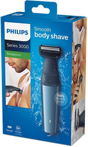 Philips BG3015 15 Bodygroom series 3000 zastrihávač do sprchy  b2e04b27ee2