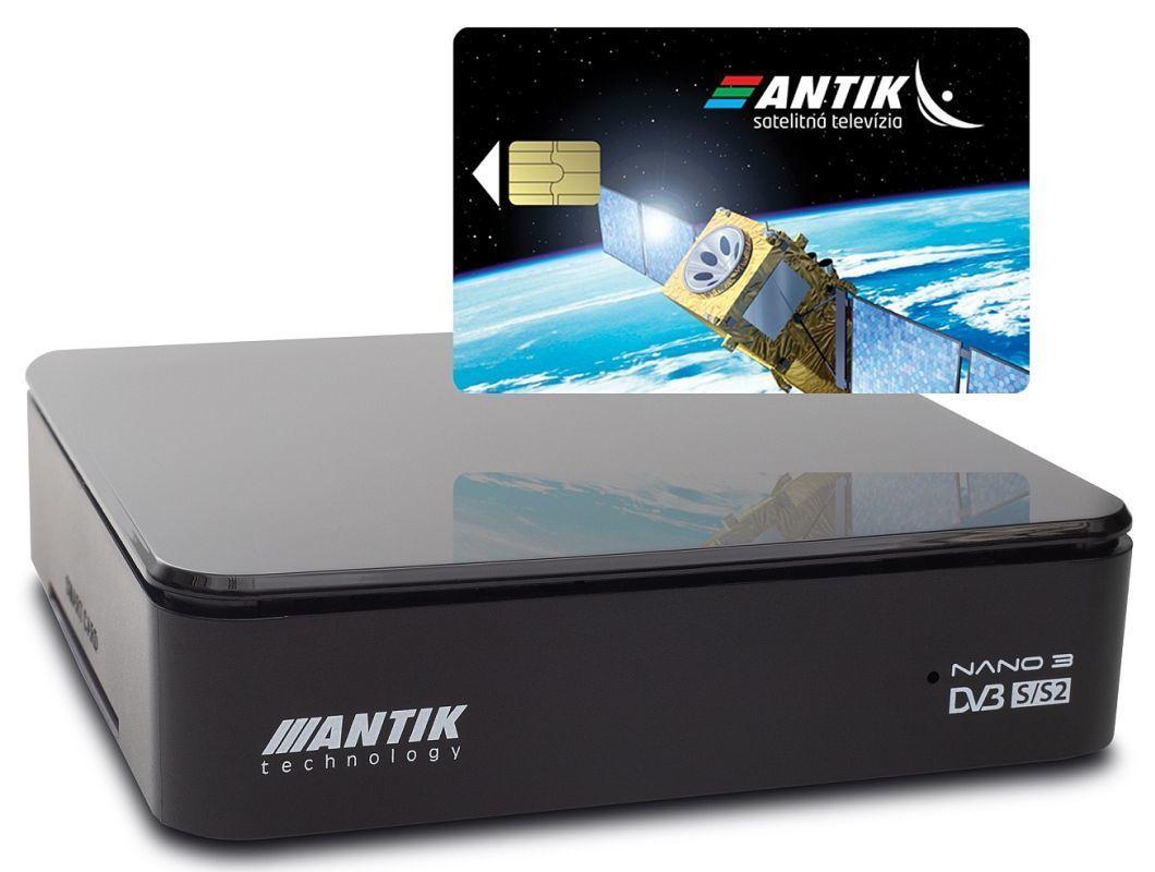 7e520800d Antik Nano 3S set-top box s archívom + karta AntikSAT | Nay.sk