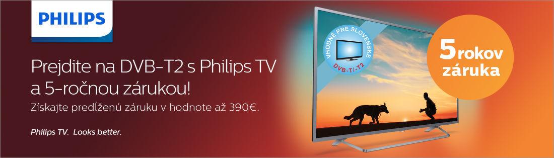 808cbe021 5-ročná záruka na TV Philips | Nay.sk