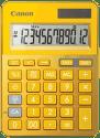 CANON LS-123K-MYL, yellow - stolná kalkulačka