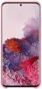 Samsung Silicone Cover pre Samsung Galaxy S20, ružová