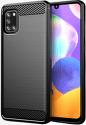 Winner Carbon puzdro pre Samsung Galaxy A31 čierna