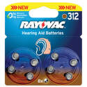 RAYOVAC VARTA Bat. do nač. prístrojov Typ 312 6+2ks  v blistry