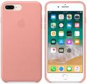 Apple kožené puzdro pre iPhone 7+/8+, ružová