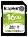 Kingston SDHC Canvas Select 16 GB UHS-I