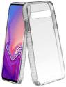 SBS Shock Impact puzdro pre Samsung Galaxy S10, transparentné