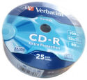 VERBATIM CD-R DL 25 celofán 700 MB 43726
