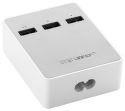 UGREEN 20360 USB nabíjacia stanica 3x Portová - biela