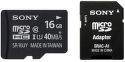 Sony microSDHC 16GB Class 10