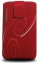 REDPOINT Velvet Red Spirals, veľ. 5XL