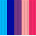 3Doodler Mix farieb do pera - Bubblegum